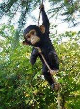 Climbing Monkey Garden ornament, Monkey hanging tree statue