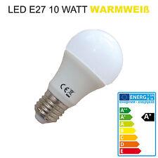 LED E27 10W warmweiß 800lm Beleuchtung Leuchtmittel Glühlampe Glühbirne Lampe