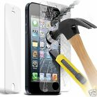 100% Genuine Tempered Glass Film Screen Protector for Apple Iphone 5 / 5S