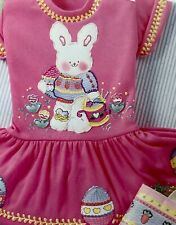 Daisy Kingdom No Sew Spring Bunny Bunnies Fabric AppliquÉ to Embellish Easter