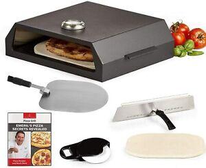 Emeril Lagasse Pizza Grill, Pizza Oven Baking Kit - Black