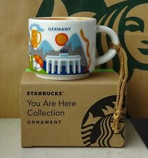 Starbucks City Mug Cup You are here Series YAH Ornament Germany 2oz NEW