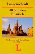 Langenscheidts Kurzlehrbücher, 30 Stunden Russisch für Anfänger - Josip Matesic