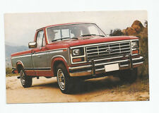 Post card 1983 Ford Styleside, Fred Martin Ford, Youngstown, Ohio 3-1/2X5-1/2 in
