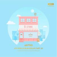 """K-PoP ASTRO 4th Mini ALBUM """"Dream Part.01"""" [ 1 PHOTOBOOK + 1 CD ] DAY VER"""