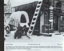 "McCabe & Mrs Miller 1971 8x9.5"" Black & white movie photo #8"