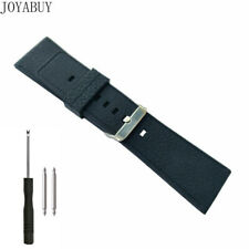 30mm Silicone Rubber Watch Band Men's Hard Duty Thick Strap Black for DZ4197