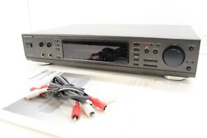 TECHNICS SH-GE90 Digital Sound Processor Graphic Equalizer & manual - Serviced