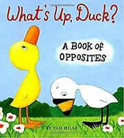 What's up, Duck? : A Book of Opposites by Hills, Tad
