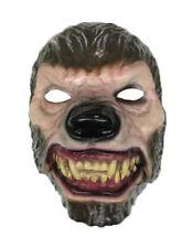 Wolf Moving Mouth Mask Scary Horror Halloween Fancy Dress Talking Werewolf