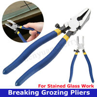 Grozier Grozing Pliers Tools - Stained Glass Leadlight Mosaics Breaking Nibbling