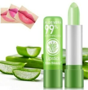 Aloe Vera 1PC Lipstick Lip Stick Moisturizing Color Changing Long Lasting