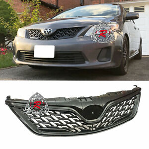 Altis ZR6 JDM-Style Front Grille (PP) Fits 11-13 Toyota Corolla (US-Spec)