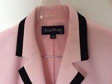 Ladies Pink & Black Suit by Evan Picone - USA  jacket & pants size 12-14