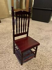 "Wendy Lawton American Girl Doll"" Mahogany Chair �Mint Never Removed From The Box"