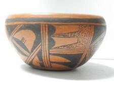 Xlarge Antique Redware Hopi Pueblo Indian Pottery Serving Bowl Pot - Nice !