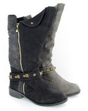 Block Low Heel (0.5-1.5 in.) Mid-Calf Boots for Women