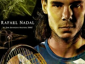 Rafael Nadal Reproduction archival quality photo
