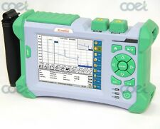 SM FTTH Tester KOMSHINE QX50-S OTDR 1310/1550nm 32/30dB as EXFO Fiber OTDR w/VFL