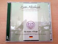 Die ersten DM-Münzen der Bundesrepublik Deutschland + geschredderte 1 DM Münze