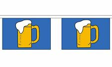 BEER 9 METRE BUNTING 30 FLAGS flag Bar festival party drinks
