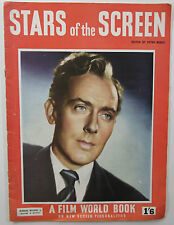 Old vintage Stars of the Screen Magazine 1949 Michael Wilding, Jean Simmons