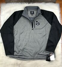 NHL Los Angeles Kings G-III Soft Shell 1/4 Zip Pullover Track Jacket Men's 2XL