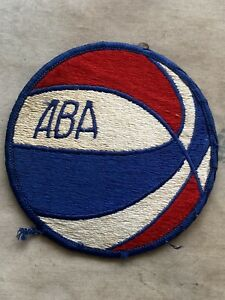 "Old Vintage ABA AMERICAN BASKETBALL ASSOCIATION Patch 4"" Inch"