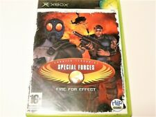 """SPECIAL FORCES FIRE FOR EFFECT XBOX ORIGINAL GAME R4 """"VGC"""" AUZ SELLER"""