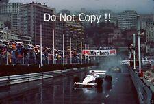 Johnny Cecotto Toleman TG184 Monaco Grand Prix 1984 Photograph 2