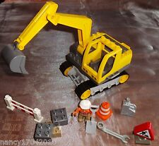 Lego Duplo Bagger Raupenbagger  f. Baustelle 4986 ode Steinbruch Digger in OVP