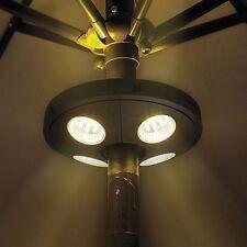 Neu LED AUSSENBELEUCHTUNG z.B FÜR SONNENSCHIRM Beleuchtung Licht Lampe Leuchte