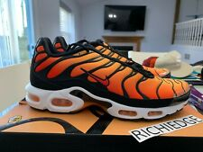 alma Endulzar Contratar  Nike Air Max Plus Orange Athletic Shoes for Men for Sale | Shop Men's  Sneakers | eBay