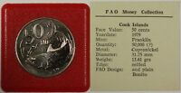 1979 FAO Money Collection The Cook Islands 50 Cent Coin Bonito
