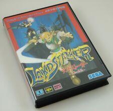 Sega Mega Drive - Landstalker - Complete CIB w/ reg card US Seller ntsc-j