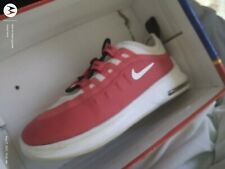 nike air toddler size 10 axis red and white athletic slip on adorable