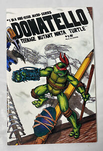 Donatello Teenage Mutant Ninja Turtles (1986) #1, Signed Eastman & Laird NM Cond
