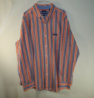 Ralph Lauren Chaps Long Sleeve Mens Casual Dress Shirt Easy Care Size LARGE L