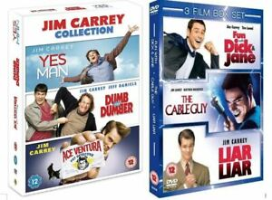 """JIM CARREY COLLECTION 6 FILMS DELUXE COLLECTOR'S DVD BOX SET """"NEW&SEALED"""""""