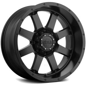 "Gear 726B Big Block 20x10 6x135/6x5.5"" -19mm Satin Black Wheel Rim 20"" Inch"