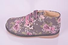 Primigi Zizzy Girls Grey Floral Lace Boots UK 7.5 EU 25 US 8 RRP £34.00