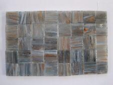 Piastrelle blu in vetro per pavimenti per il bricolage e fai da te