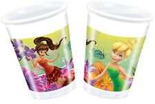 Bicchieri Plastica Trilli , Festa Compleanno Fairies PS 09625