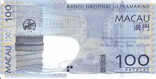Macau BNU, 11 11 2013 100 Patacas P82c  ((Unc))
