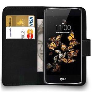 Case For LG k8 k10 2017 k3 k4  k5  k7 Magnetic Flip Leather Wallet Phone cover