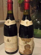 GEVREY CHAMBERTIN  1er Cru  LES CAZETIERS  1964  2 bouteilles