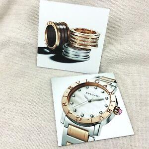 Bulgari Bvlgari Display Advertising Dealer Sign Ladies Watch Diamond Jewellery