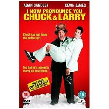 I NOW PRONOUNCE YOU CHUCK & LARRY Adam Sandler*Kevin James Comedy DVD *EXC*