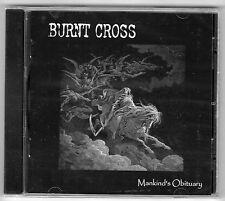 Burnt Cross - Mankind's Obituary CD