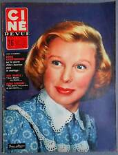 ►CINE REVUE 25/1956-JUNE ALLYSON-SERGE REGGIANI-MICHELE MORGAN-ELIZABETH TAYLOR